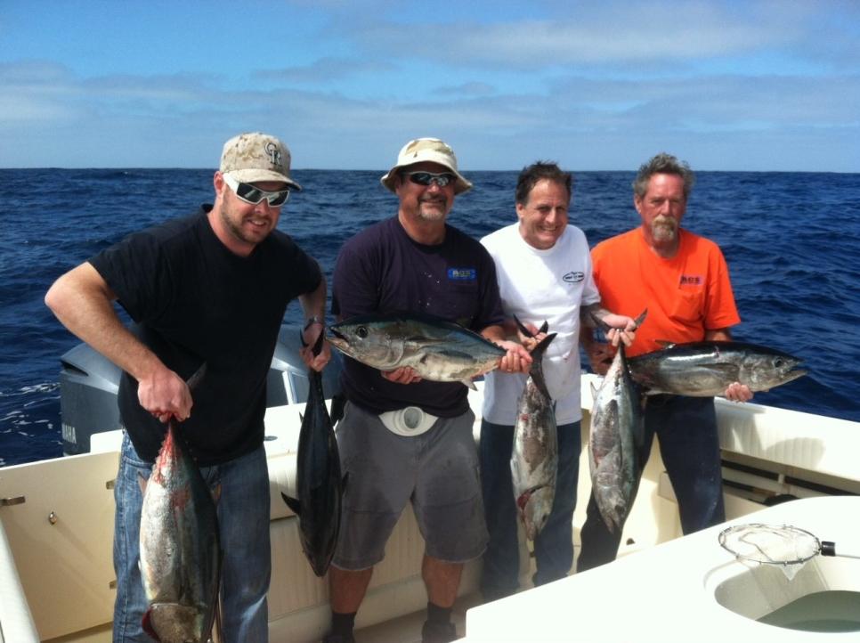 So cal tuna fishing report september 26 2013 for Tuna fishing california