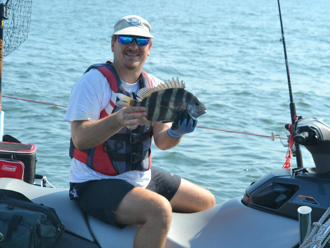Jet Ski Fishing Chesapeake Bay Fishing Report October 04