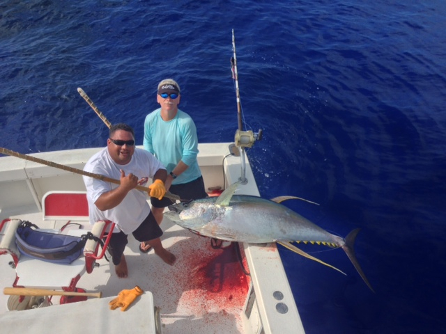 Only in kona fishing report december 08 2013 for Hawaii fishing report