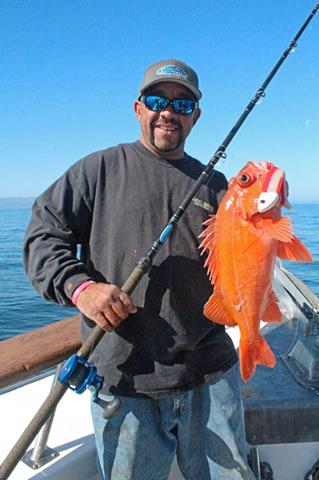 Quality rockfish and lingcod fishing report april 16 for New zealand ling fish