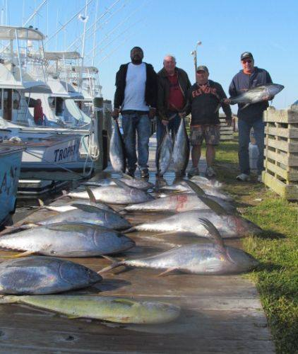 Good day at oregon inlet fishing report april 27 2014 for Fishing report oregon