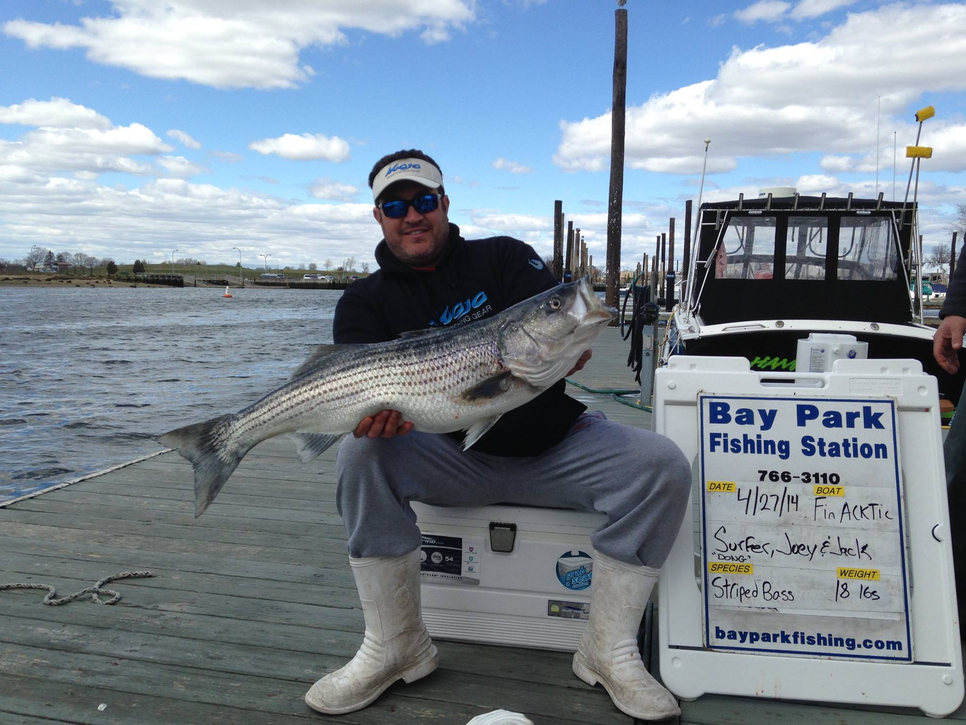 raritan bay stripers fishing report may 02 2014