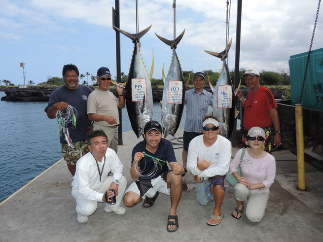 Overnight Tuna Trip Fishing Report May 26 2014