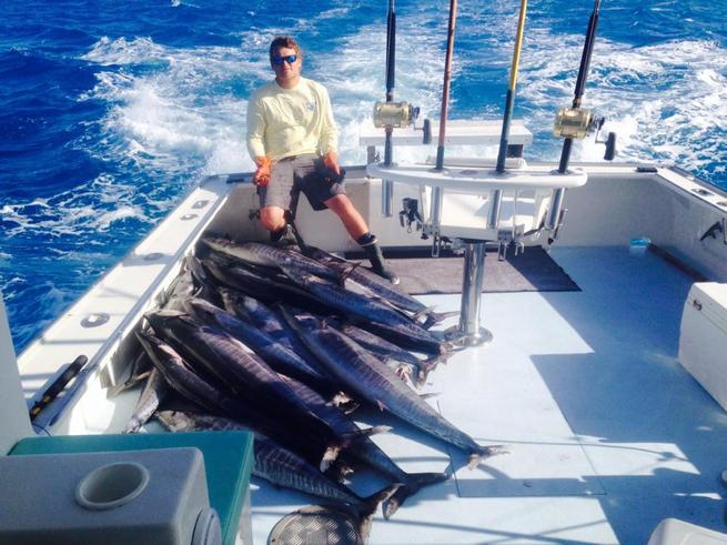 Bermuda wahoo bite fishing report may 07 2014 for Fishing in bermuda