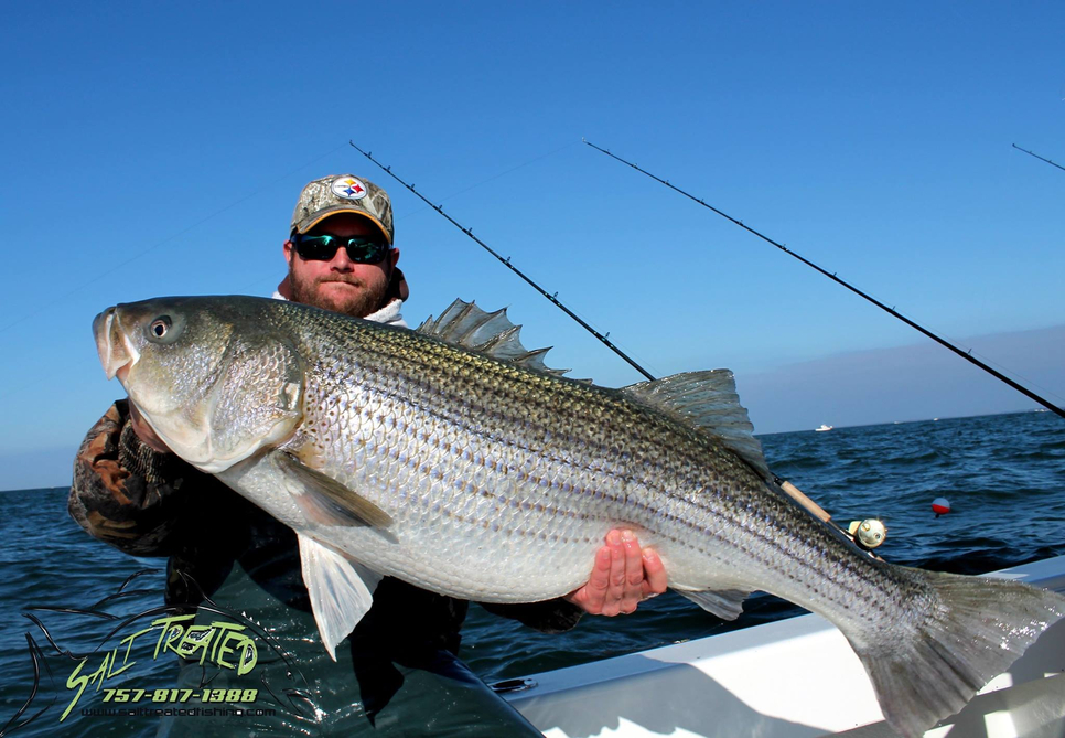 Citation striper fishing report december 15 2014 for Fisherman s landing fish report
