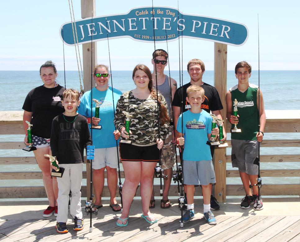 Jennette 39 s pier in nags head fishing report june 30 for Jennette s pier fishing report