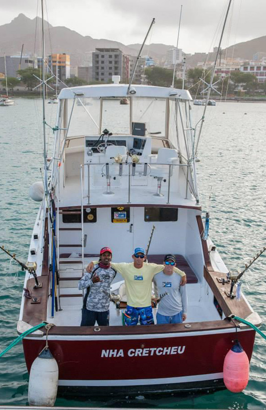 Blue marlin cape verde fishing report may 25 2015 for Cape may fishing report