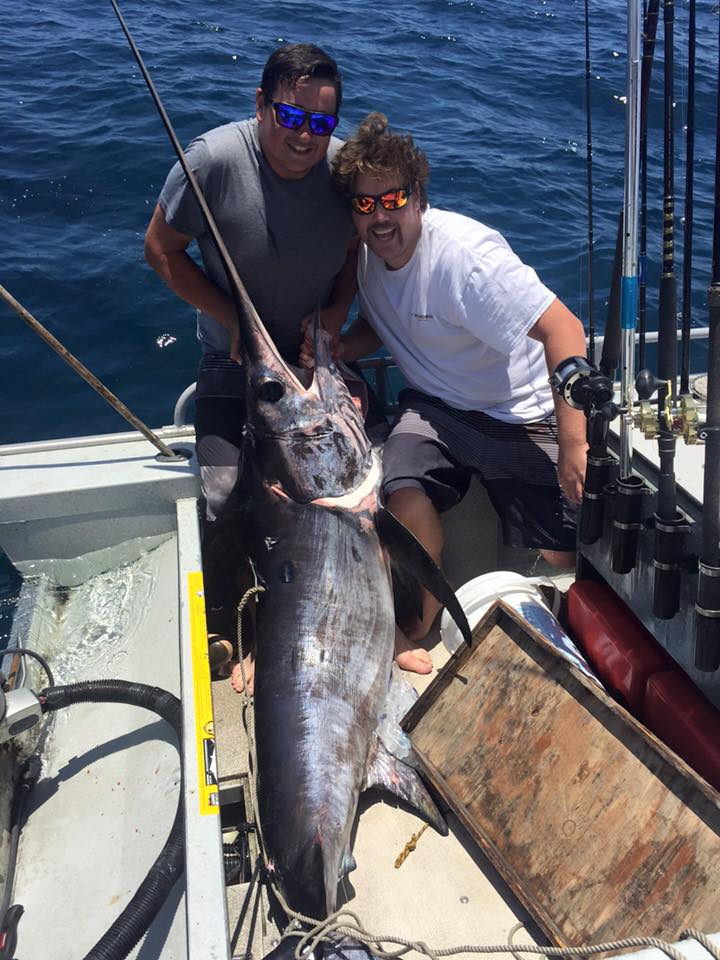 Dana point swordfish fishing report june 02 2015 for Dana point fishing