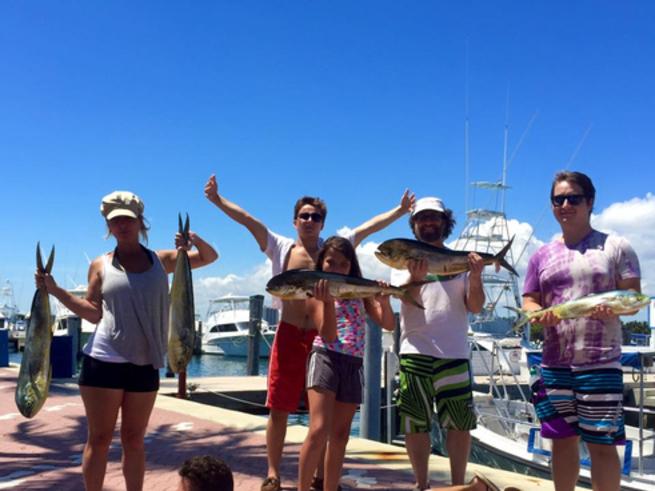 Mahi action off palm beach fishing report august 23 for Palm beach fishing report