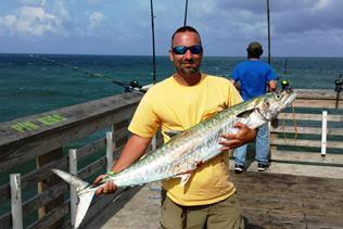 Jennette 39 s pier in nags head fishing report august 23 for Jennette s fishing pier
