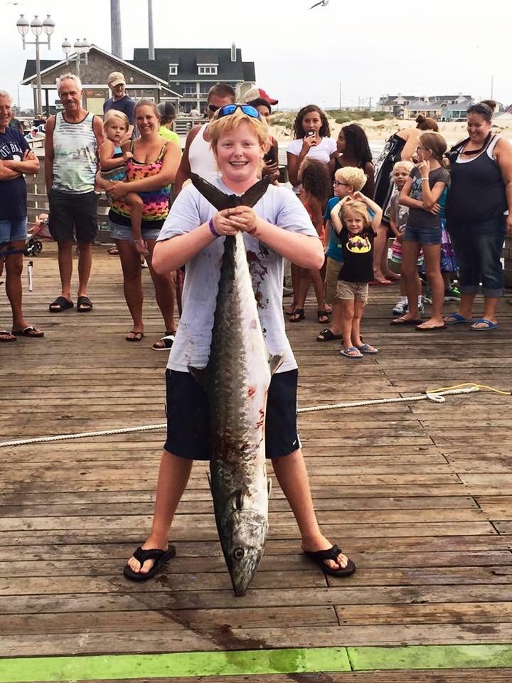 Jennette 39 s pier in nags head fishing report august 29 for Jennette s pier fishing report