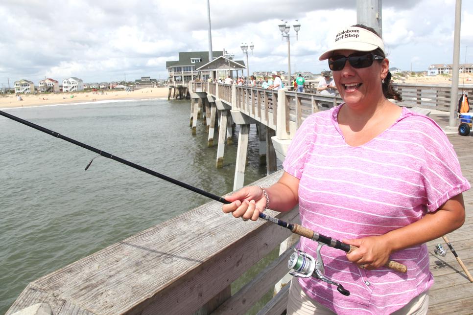 Jennette 39 s pier in nags head fishing report august 22 for Jennette s fishing pier