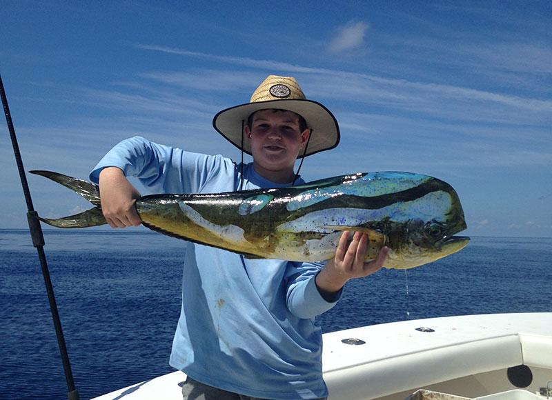 Mahi in the keys fishing report october 12 2015 for Middle keys fishing report
