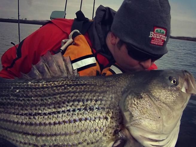 Chesapeake bay striped bass fishing report march 09 for Fishing report chesapeake bay