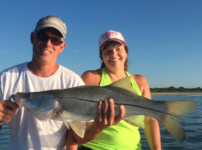 Port canaveral snook fishing report july 25 2016 for Port canaveral fishing report