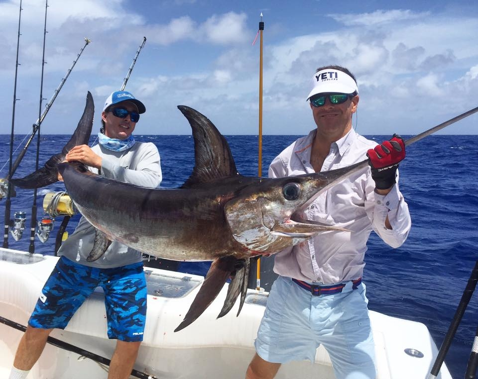3 for 3 on swords fishing report august 03 2016 for Middle keys fishing report