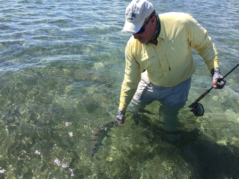 Biscayne bay permit and bonefish fishing report for Biscayne bay fishing