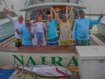 Naira celebrates their Grand Slam!