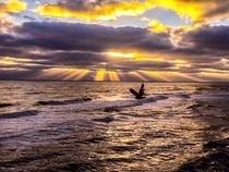 Super sunrise photo by Ryan