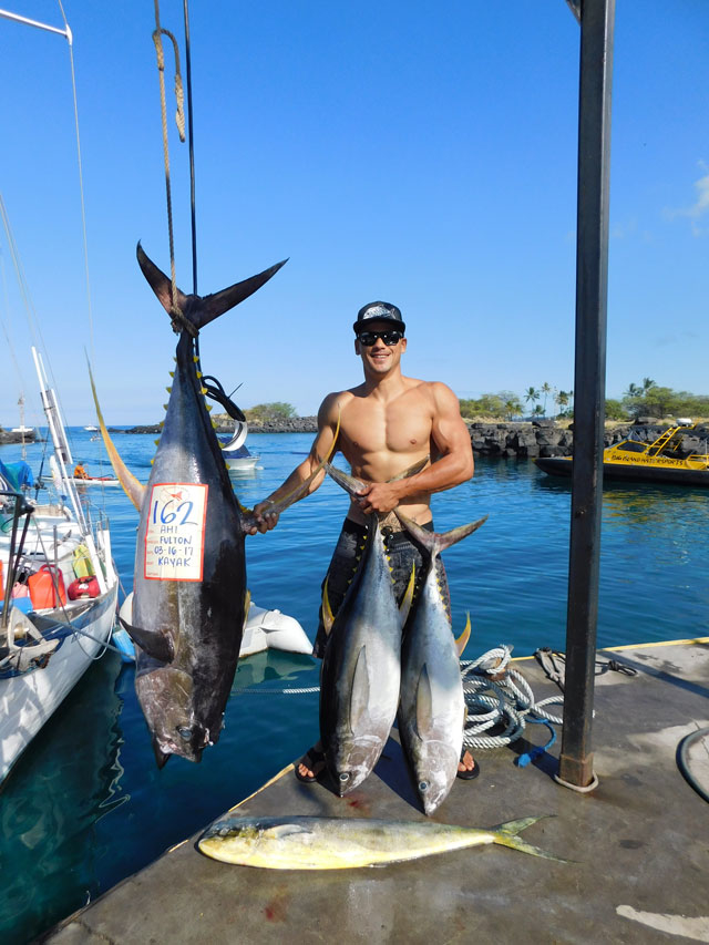 Kona march madness fishing report march 21 2017 for Hawaii fishing report