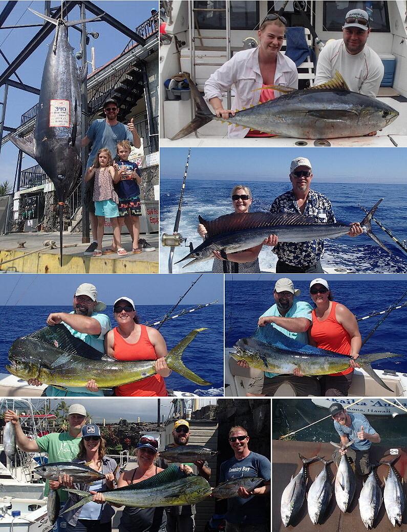 Kona hawaii fishing report mar wrap up march 29 for Kona hawaii fishing