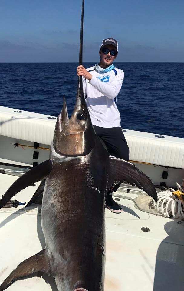 350 lb swordfish fishing report april 27 2017 for Middle keys fishing report
