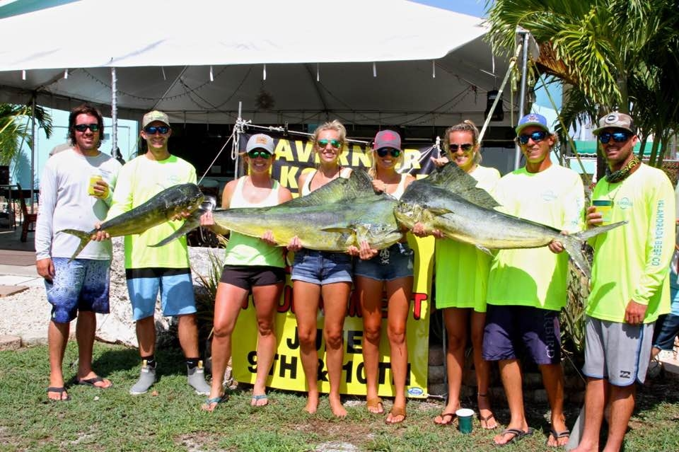 2017 tavernier ladies dolphin tournament fishing report for Tournament fish weighing scales