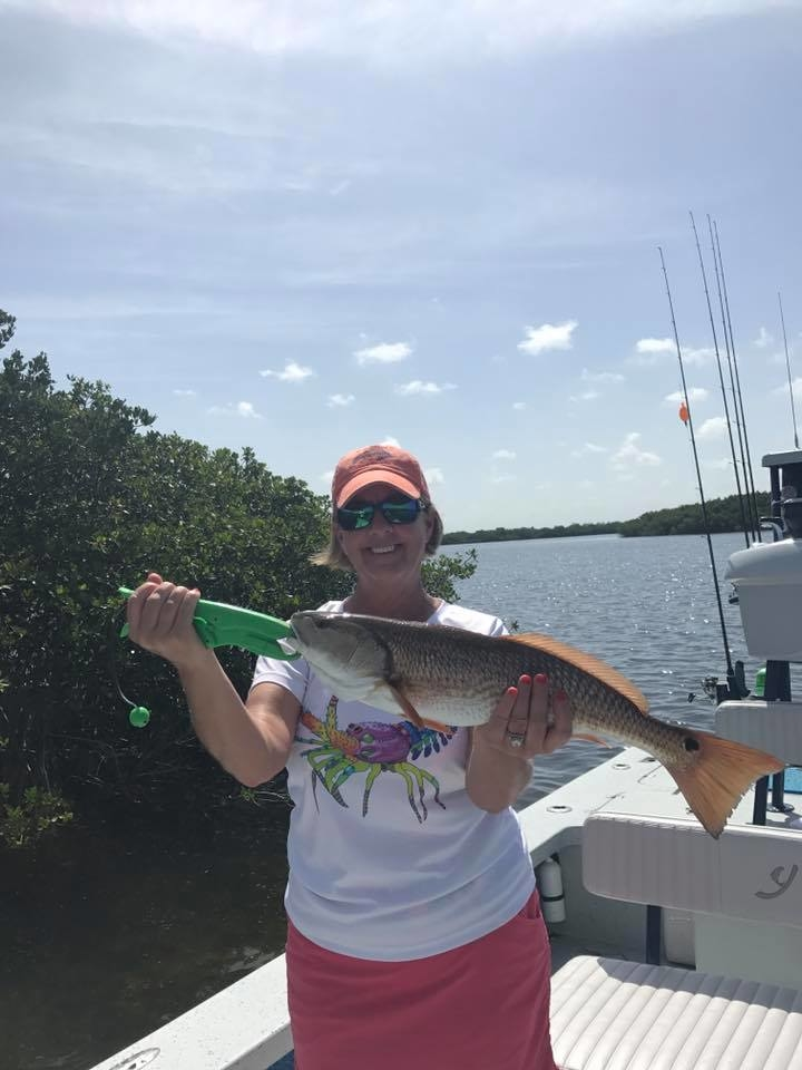Crystal river redfish fishing report june 22 2017 for Crystal river fl fishing report