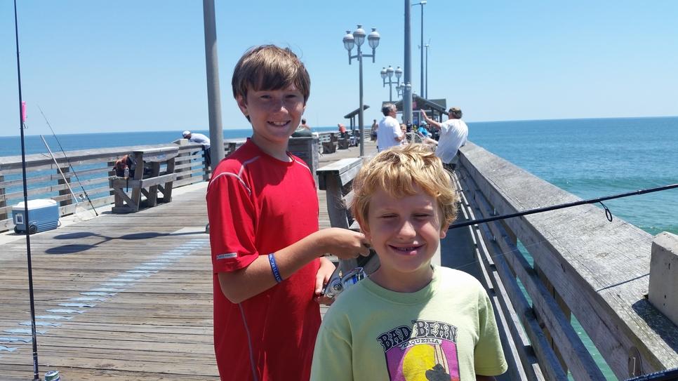 Jennette 39 s pier fishing report july 16 2017 fishtrack com for Jennette s pier fishing report