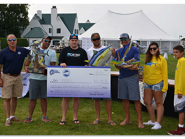 8th annual montauk canyon challenge fishing report for Viking fishing report montauk