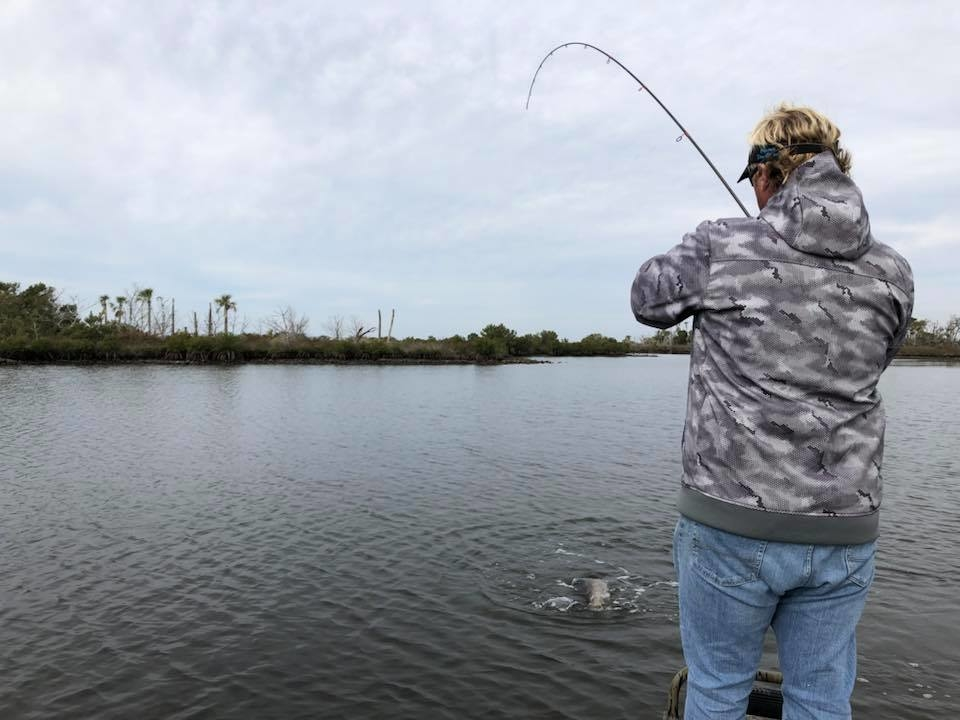 Crystal river reds fishing report january 24 2018 for Crystal river fl fishing report