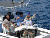 Big fish and lots of them in the 2018 Bastille Day Kingfish Tournament. Credit: Dean Barnes