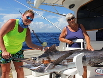 Blue Marlin fishing with Big Marlin Charters Punta Cana